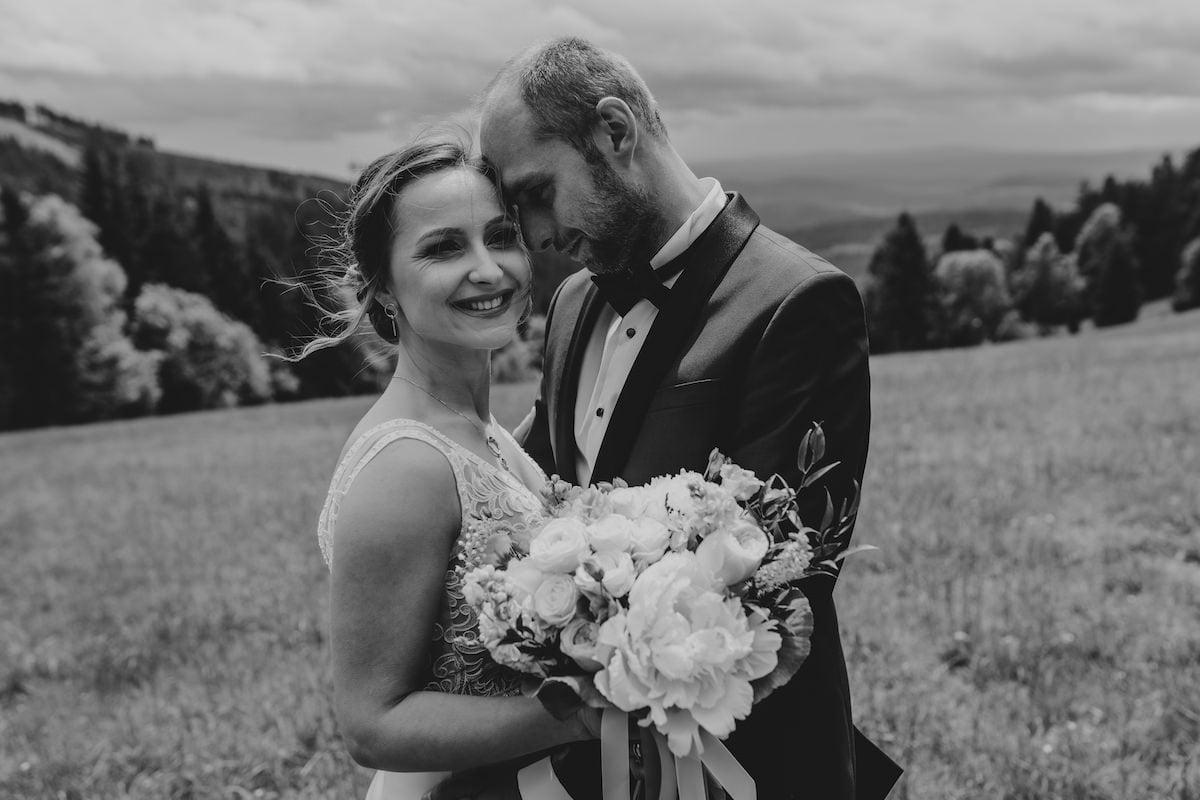 Plener ślubny w Górach Sowich