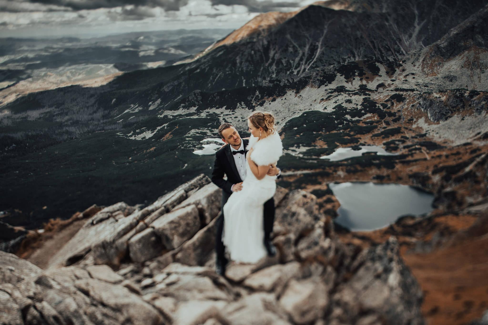 Górski plener ślubny na Kasprowym Wierchu – Zakopane