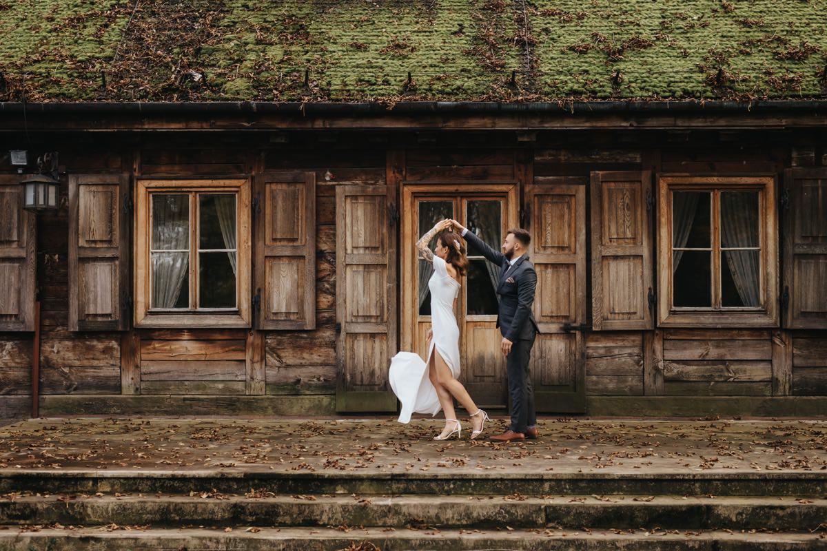 Plener ślubny w Pałacu w Radziejowicach