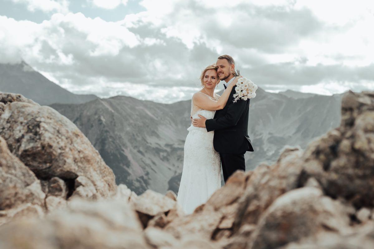 Górski plener ślubny na Kasprowym Wierchu - Zakopane